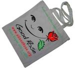 Smile Rose Cotton Bag